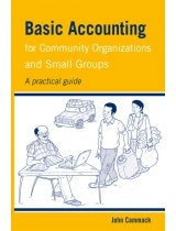 Basic accounting for community organisations book cover
